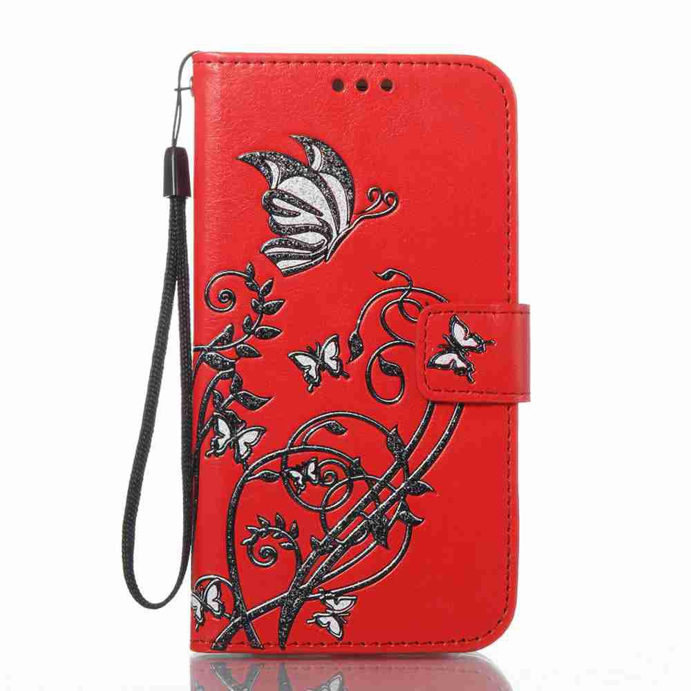 Fancy Embossing Colorful Daffodils PU Phone Case for Samsung Galaxy  S6 Edge
