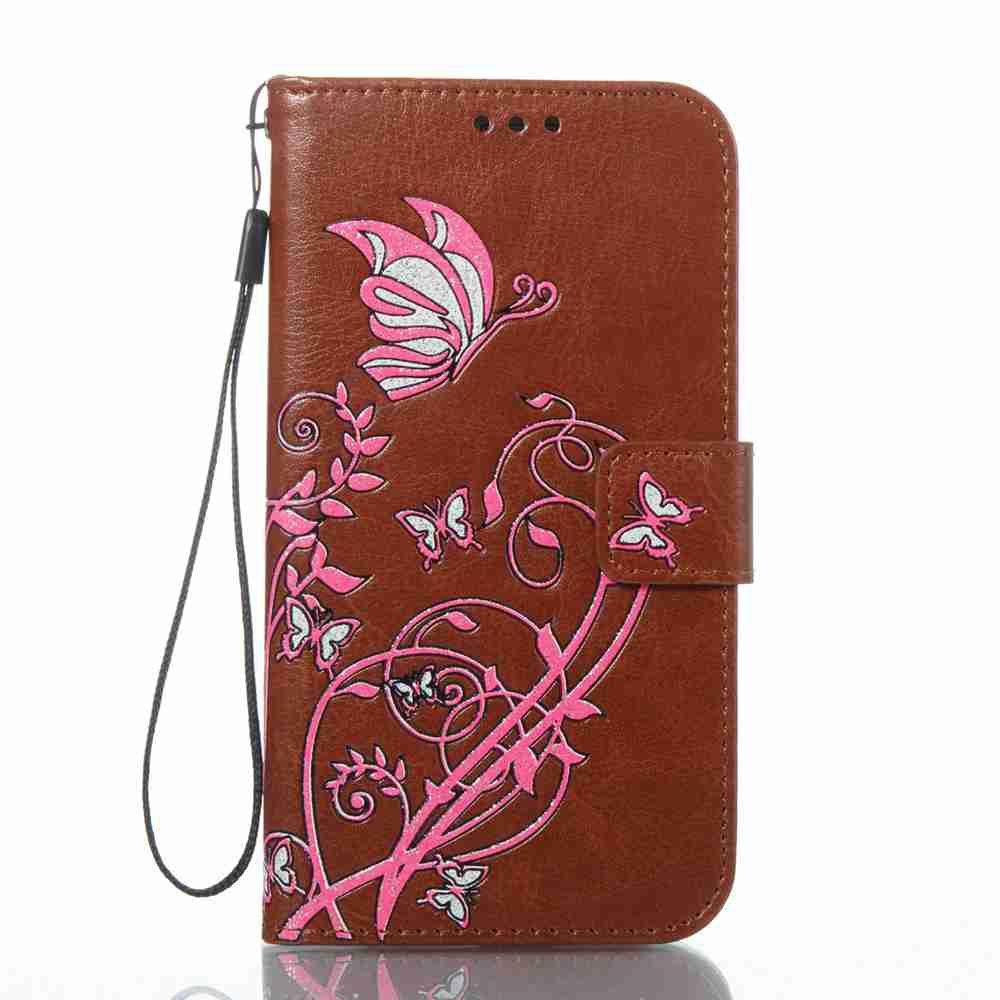 Chic Embossing Colorful Daffodils PU Phone Case for Samsung Galaxy  S6 Edge