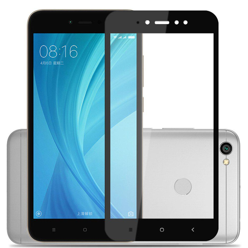 Tempered Glass Screen Protector for Xiaomi Redmi Note 5AHOME<br><br>Color: BLACK;