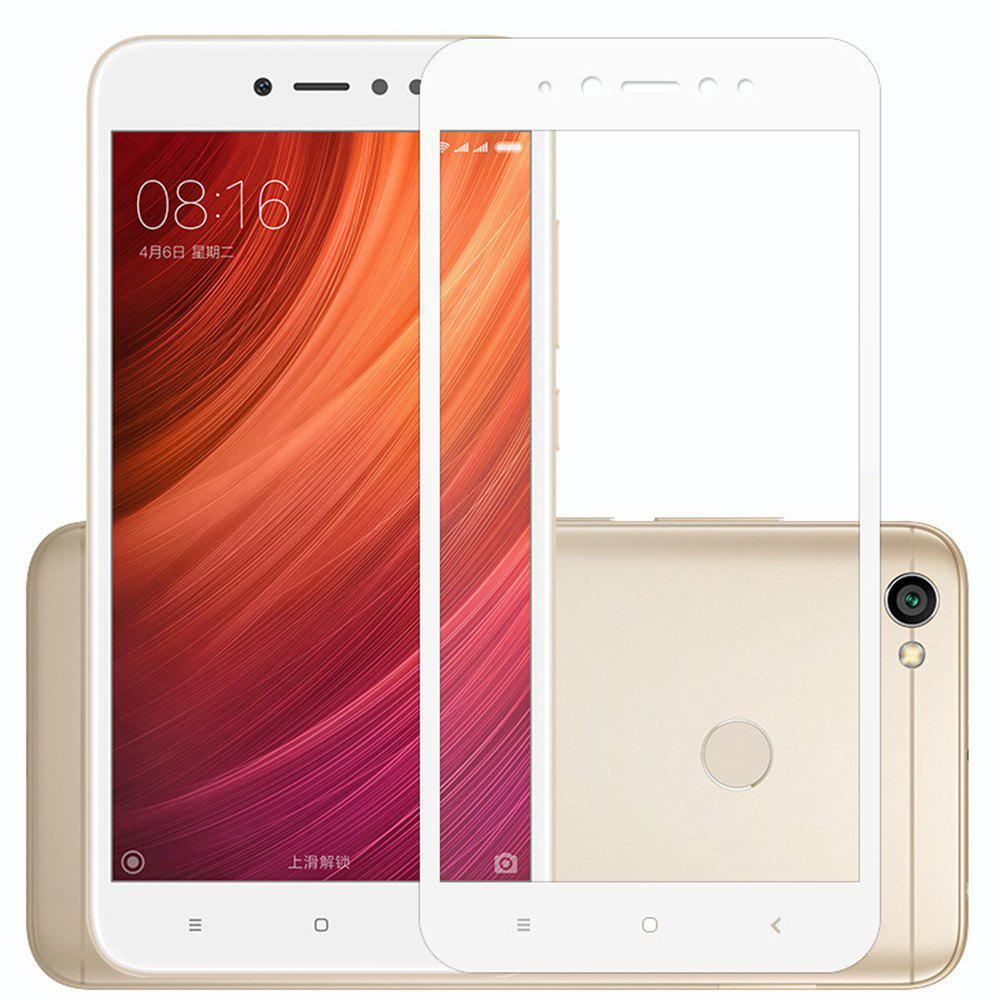 Tempered Glass Screen Protector for Xiaomi Redmi Note 5AHOME<br><br>Color: WHITE;