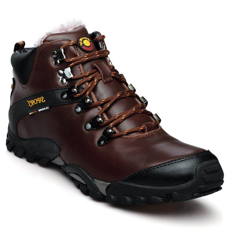 Outfits Male Leather Outdoor Climbing Shoes