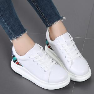 Breathable Leisure Thick Bottom Women Shoes -
