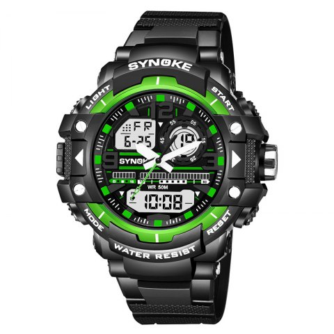 Outfits SYNOKE 4735 Outdoor Sports Trendy Waterproof Multifunctional Men Electronic Watch with Box