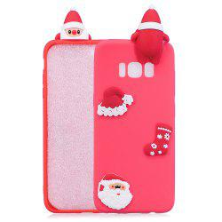 Fashionable Christmas Oldman Silicone Case for Samsung Galaxy S8 -