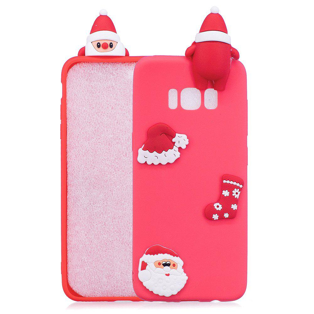 Store Fashionable Christmas Oldman Silicone Case for Samsung Galaxy S8
