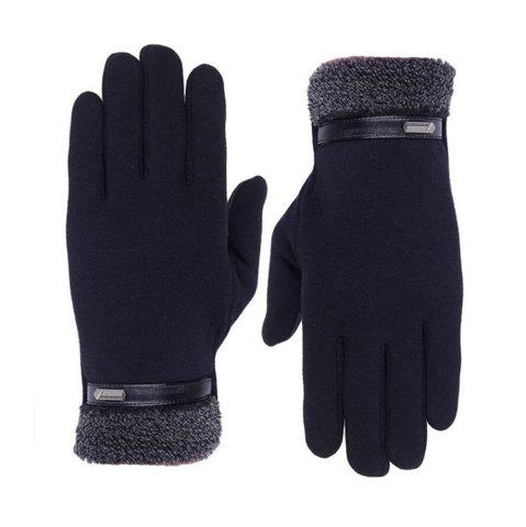 Sale Outdoor Cold Proof Touch Screen Velvet Gloves Unisex