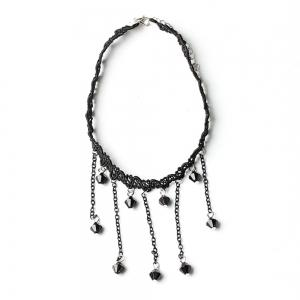 15 pcs Women's  Chokers Stylish Rhinestone Chic Simple Basic Fashion Accessory -