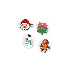 4pcs Europe American Popular Cartoon Series Brooch Portfolio Ladies Jewelry -
