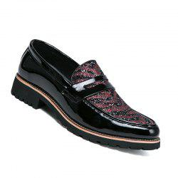 Hommes Casual Mode Voyage en plein air Business Rouge Noir Chaud Chaussures Taille 38-43 -