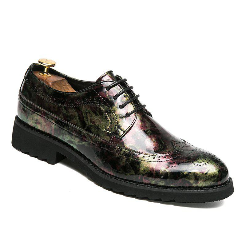 Hommes Casual Mode Voyage en plein air Business Couleur Chaud Chaussures Taille 38-43