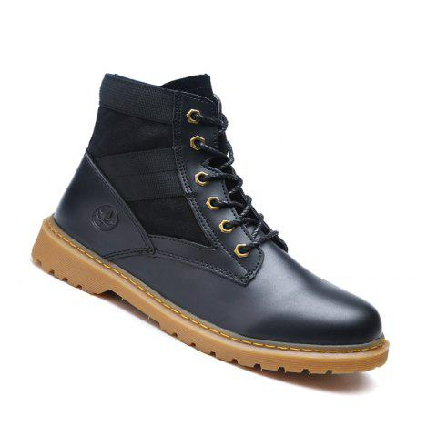 Sale High Quality Shoes  Fashion Outdoor Couple  Walking High-Top Boots 35-44