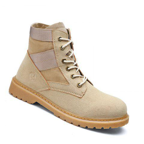 Shop High Quality Shoes  Fashion Outdoor Couple  Walking High-Top Boots 35-44