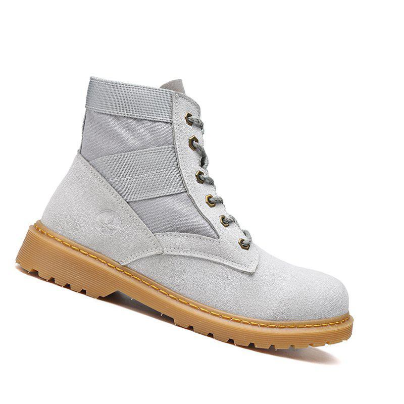Latest High Quality Shoes  Fashion Outdoor Couple  Walking High-Top Boots 35-44