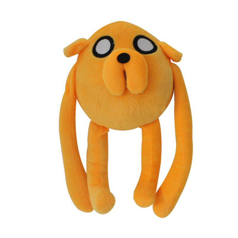 Cartoon Dog Style Plush Doll Stuffed Toy 13 inchHOME<br><br>Size: 13 INCH; Color: GINGER; Materials: Plush; Theme: Movie and TV; Features: Cartoon,Soft,Stuffed and Plush; Series: Fashion;