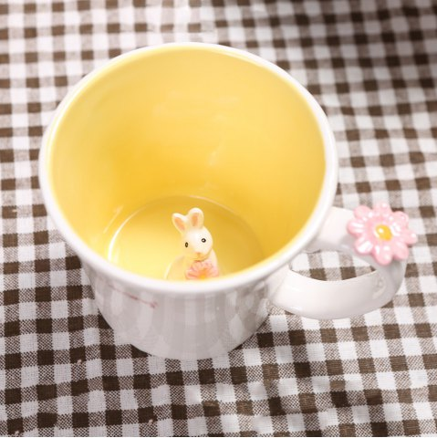 Mug 550ML Good Morning Rabbit Cup