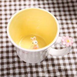 Mug 550ML Good Morning Rabbit Cup -