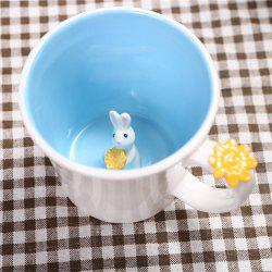 550ML Good Morning Rabbit Cup -