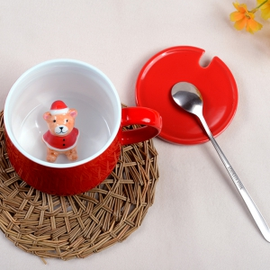 400ML Christmas Pottery Mug -