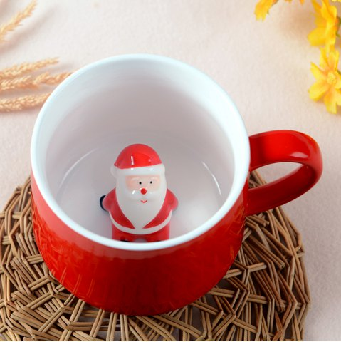 Shops 400ML Christmas Pottery Mug