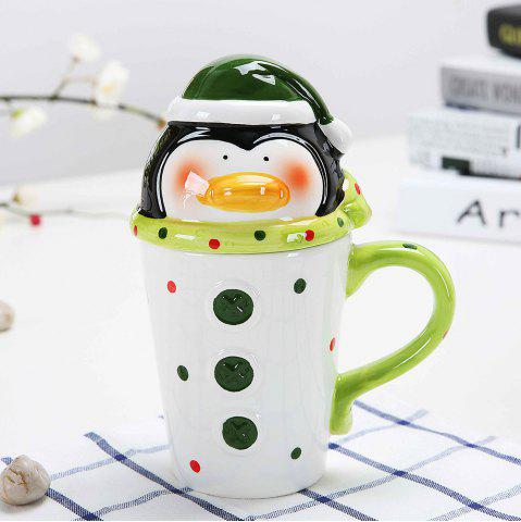 Latest 400ML Animal Cartoon Christmas Cup