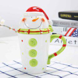 400ML Animal Cartoon Christmas Cup -