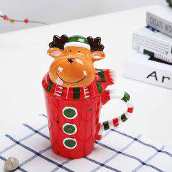 Tasse de Noël Cartoon animaux 400ML -