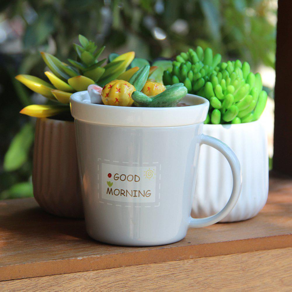 Outfits 275ML Plants Ceramic Cup