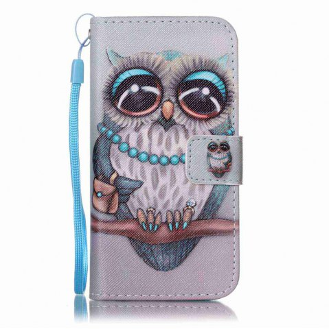 Affordable Painted PU Phone Case for iPhone 6 / 6S