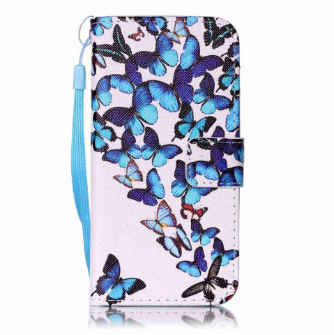 Trendy Painted PU Phone Case for iPhone 6 / 6S