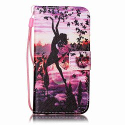 Painted PU Phone Case for iPhone 6 / 6S -