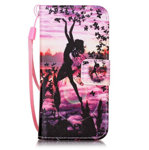 Latest Painted PU Phone Case for iPhone 5 / 5S / SE