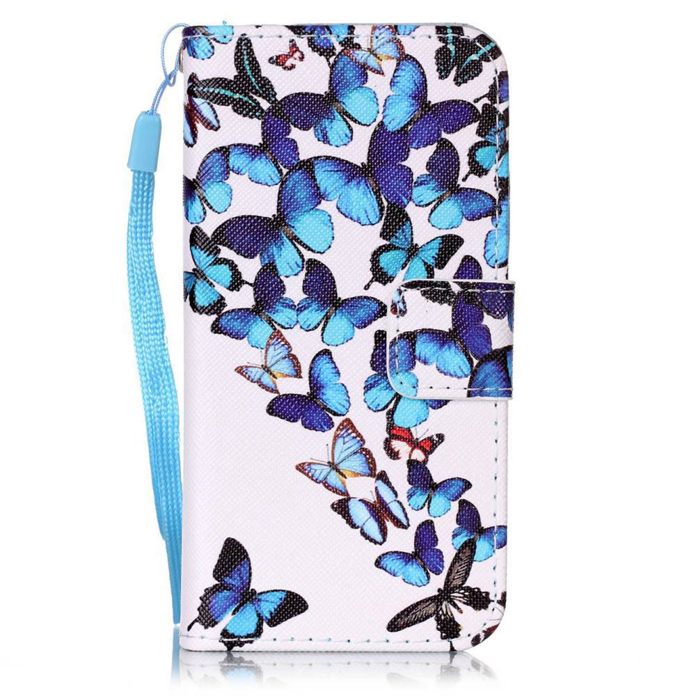 Sale Painted PU Phone Case for iPhone 5 / 5S / SE