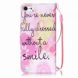 Painted PU Phone Case for iPod Touch 5 / 6 -
