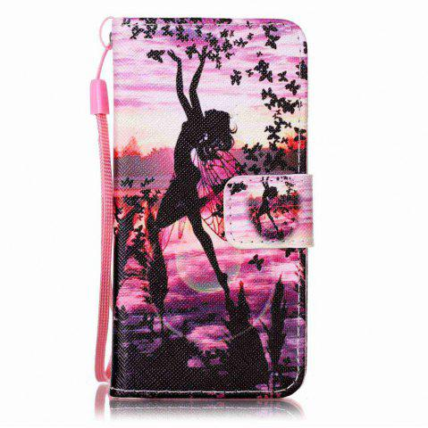 Hot Painted PU Phone Case for iPod Touch 5 / 6