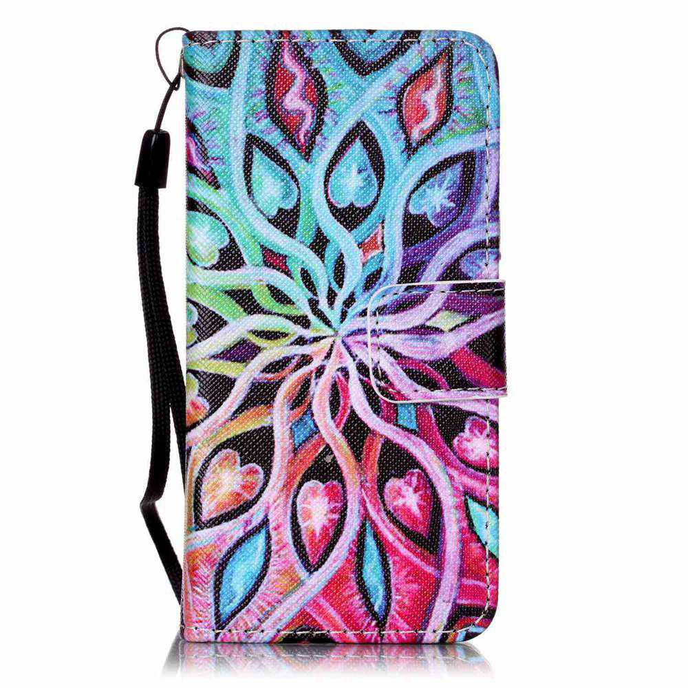 Fashion Painted PU Phone Case for iPod Touch 5 / 6