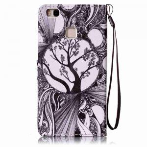 Painted PU Phone Case for HUAWEI P9 Lite -
