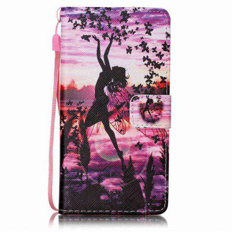 Outfit Painted PU Phone Case for HUAWEI P9 Lite