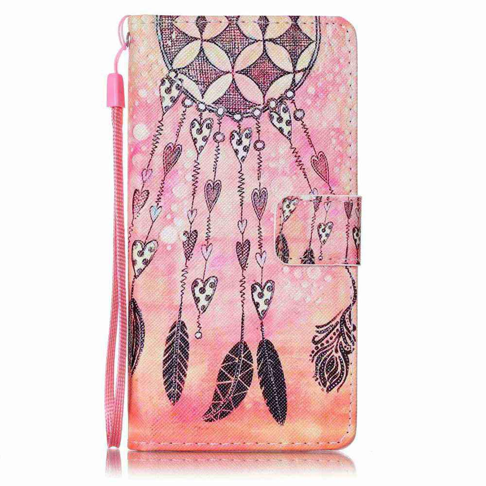 Online Painted PU Phone Case for HUAWEI P9 Lite