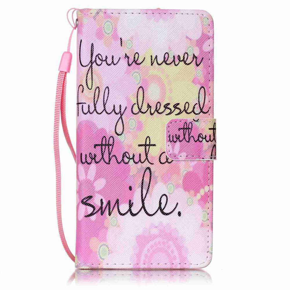 Fashion Painted PU Phone Case for HUAWEI P9 Lite