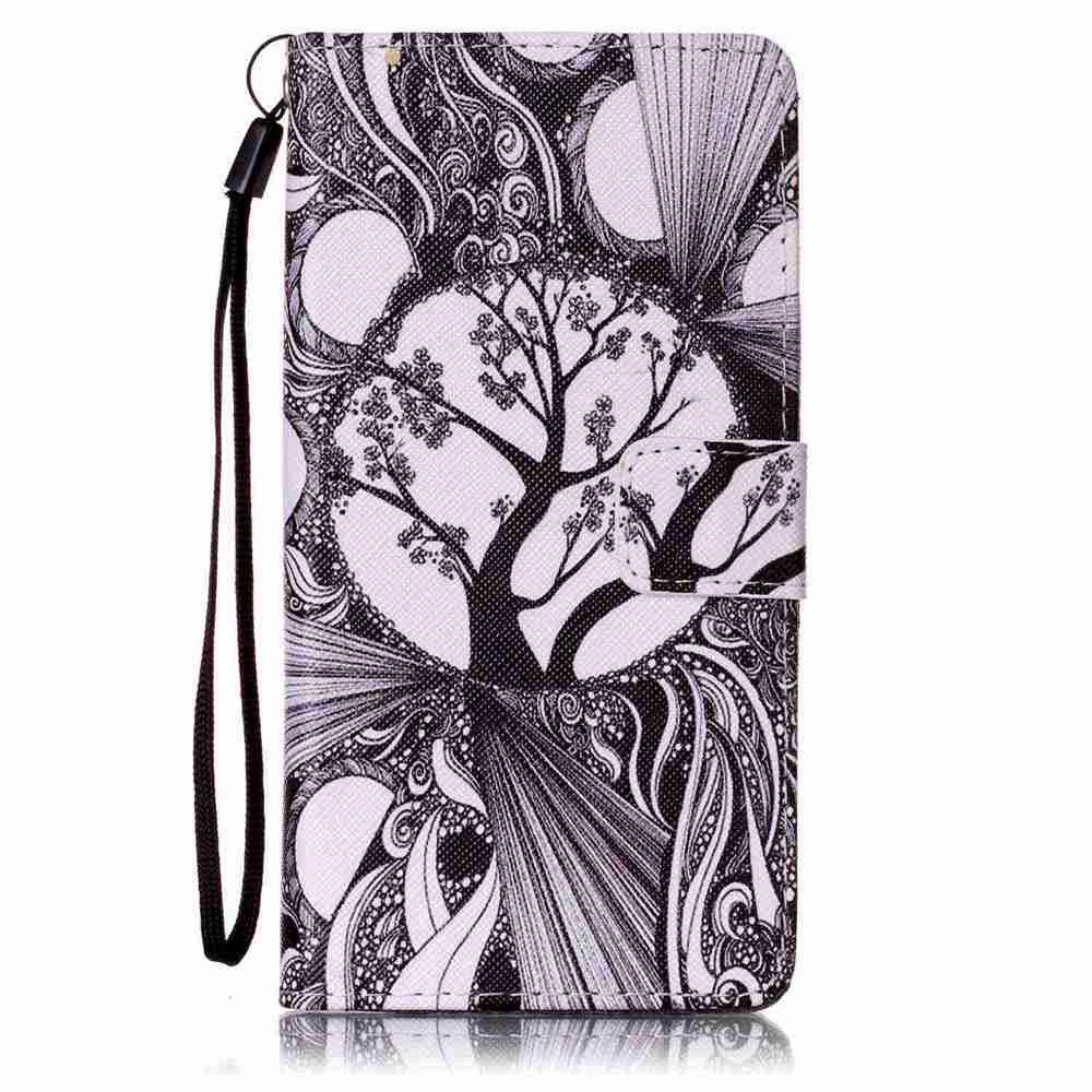 Cheap Painted PU Phone Case for HUAWEI P9 Lite