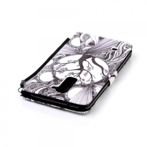Painted PU Phone Case for LG LS775 / STYLUS2 -
