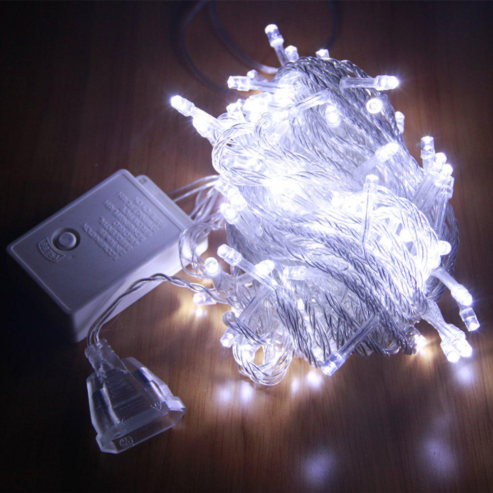 ZDM 1000CM 100PCS LED White String Decoration Light For Christmas Party Wedding  EU Plug AC220VHOME<br><br>Color: COLD WHITE LIGHT; For: Home,Hotel,Restaurant; Power Supply: USB Cable; Product weight: 0.1900 kg; Package weight: 0.2000 kg; Product size (L x W x H): 1,000.00 x 3.00 x 3.00 cm / 0.39 x 1.18 x 1.18 inches; Package size (L x W x H): 13.00 x 8.00 x 7.00 cm / 5.12 x 3.15 x 2.76 inches; Package Contents: 1 x Decorative Light;