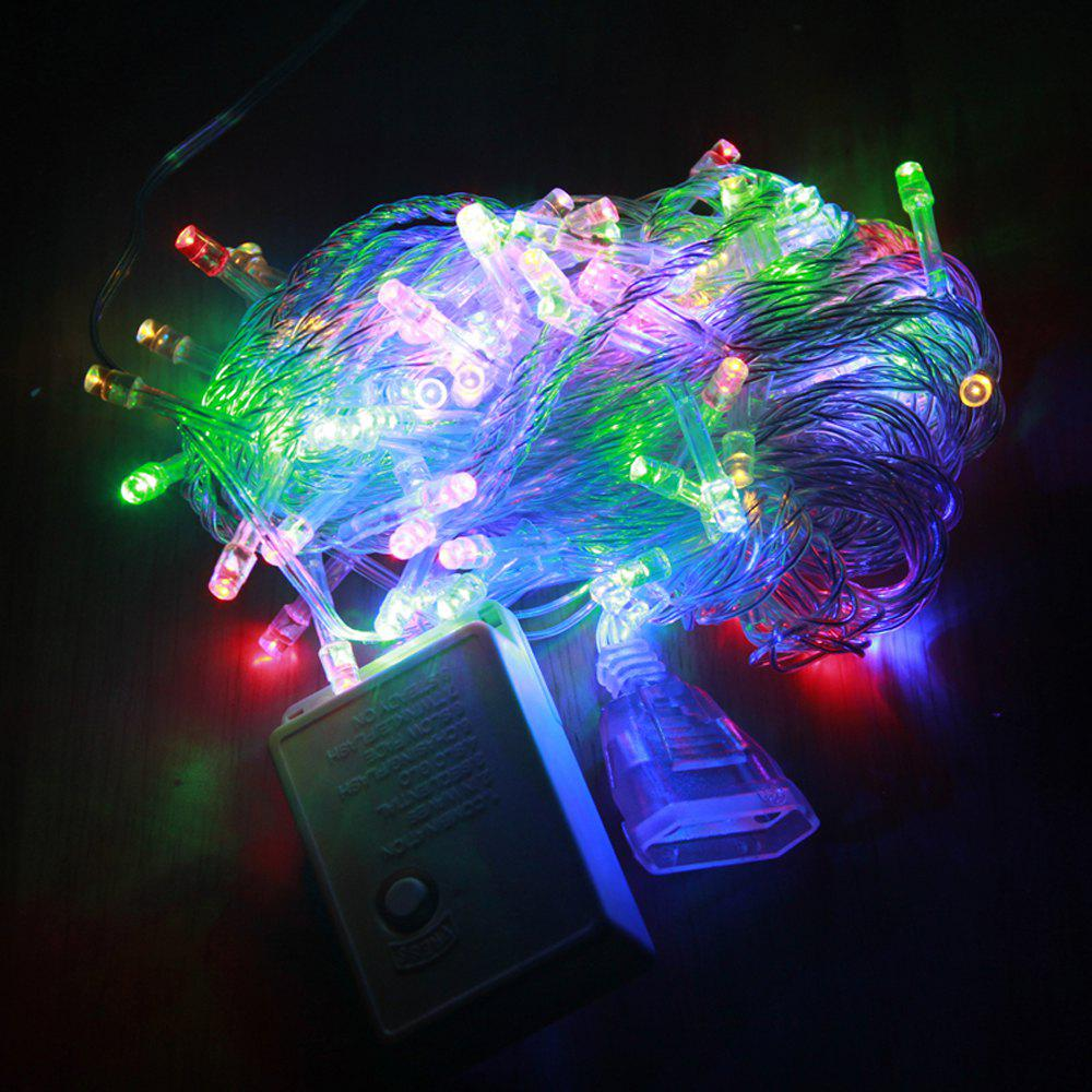 ZDM 1000CM 100PCS LED White String Decoration Light For Christmas Party Wedding  EU Plug AC220VHOME<br><br>Color: MULTICOLOR; For: Home,Hotel,Restaurant; Power Supply: USB Cable; Product weight: 0.1900 kg; Package weight: 0.2000 kg; Product size (L x W x H): 1,000.00 x 3.00 x 3.00 cm / 0.39 x 1.18 x 1.18 inches; Package size (L x W x H): 13.00 x 8.00 x 7.00 cm / 5.12 x 3.15 x 2.76 inches; Package Contents: 1 x Decorative Light;