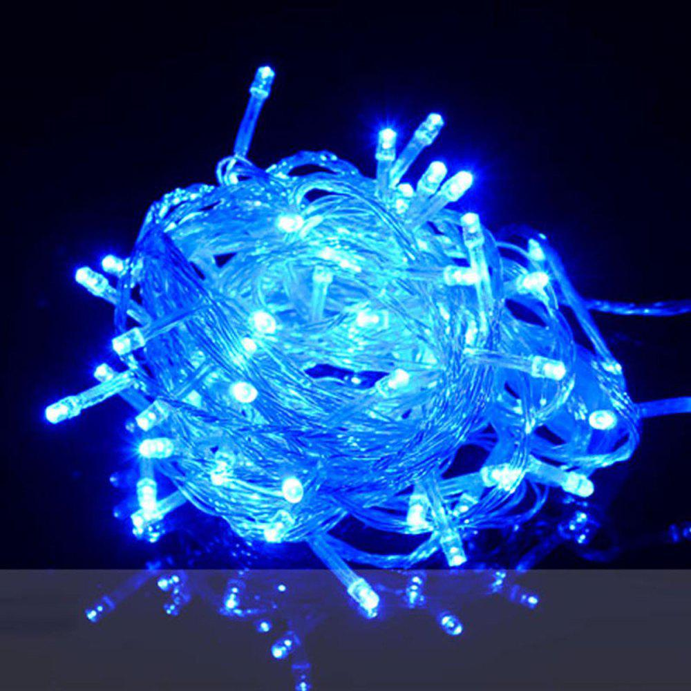 ZDM 1000CM 100PCS LED White String Decoration Light For Christmas Party Wedding  EU Plug AC220VHOME<br><br>Color: BLUE LIGHT; For: Home,Hotel,Restaurant; Power Supply: USB Cable; Product weight: 0.1900 kg; Package weight: 0.2000 kg; Product size (L x W x H): 1,000.00 x 3.00 x 3.00 cm / 0.39 x 1.18 x 1.18 inches; Package size (L x W x H): 13.00 x 8.00 x 7.00 cm / 5.12 x 3.15 x 2.76 inches; Package Contents: 1 x Decorative Light;