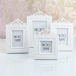 European Style Solid Color Wooden Decorative Home Photo Frame -