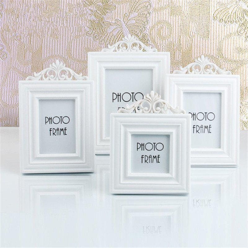 European Style Solid Color Wooden Decorative Home Photo FrameHOME<br><br>Size: SIZE XL; Color: WHITE; Material: Wood; Product weight: 0.4300 kg; Package weight: 0.4500 kg; Product size (L x W x H): 29.50 x 20.00 x 1.50 cm / 11.61 x 7.87 x 0.59 inches; Package size (L x W x H): 31.00 x 22.00 x 3.00 cm / 12.2 x 8.66 x 1.18 inches; Package Contents: 1 x Home Photo Frame;