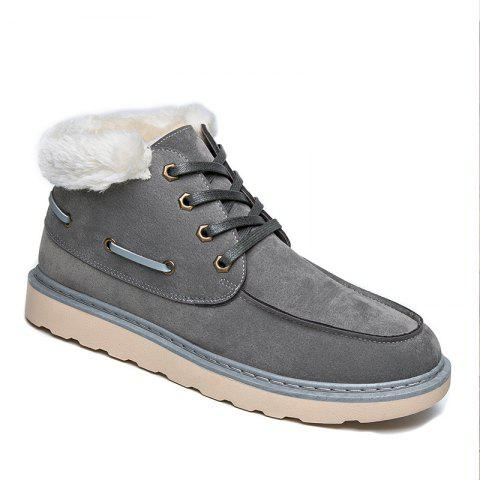 Cheap High Vamp Men Winter Warm Shoes