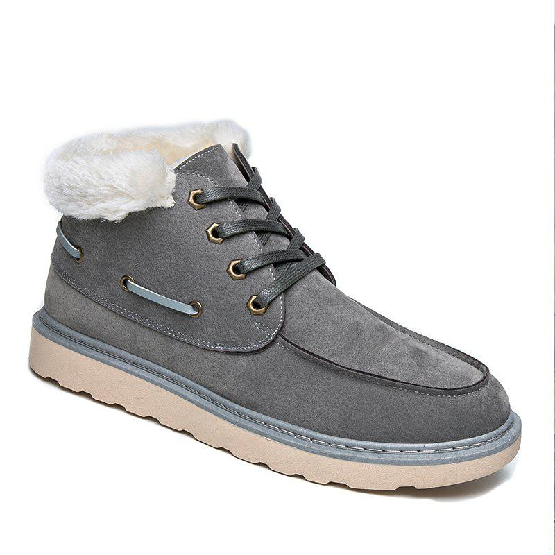 Affordable High Vamp Men Winter Warm Shoes
