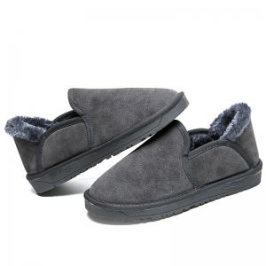 Low Vamp Fashion Men Warm Winter Shoes -