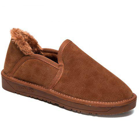 Best Low Vamp Fashion Men Warm Winter Shoes